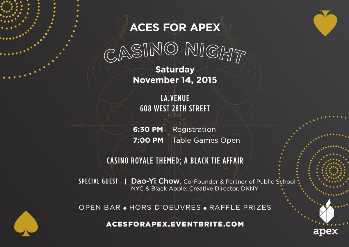 aces and eights casino nights