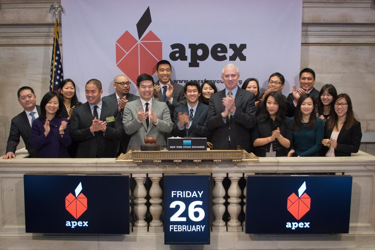 Apex Rings NYSE Opening Bell!